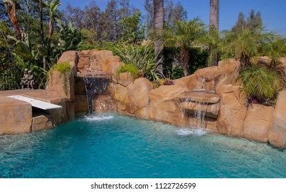 Swimming Pool in California