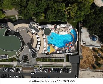 swimming pool in the center of Yerevan