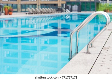 swimming pool in a Chinese Hotel