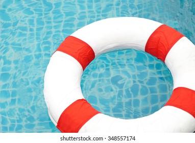 Swimming pool and lifeguard, Ring Pool.