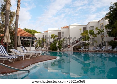 Swimming Pool Luxury Hotel Tenerife Canary Stock Photo Edit Now