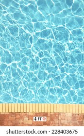 Swimming pool plenty of room for your text, perfect for cover art