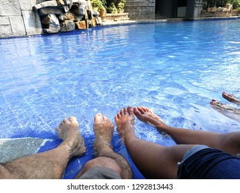 swimming pool relaxation