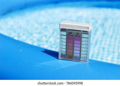 Swimming pool service and equipment with cleaning products