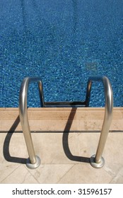 Swimming pool and steps