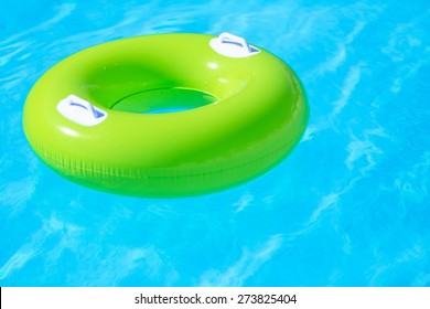 Swimming Pool, Toy, Floating On Water.