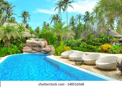 swimming pools,  backyard pool in luxury home