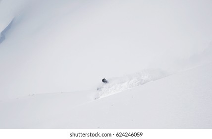Swimming through the Powder