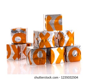 SWINDON, UK - NOVEMBER 20, 2018: Chicken OXO cubes, OXO is one of the most popular brands of gravy. OXO is owned by Premier Foods.