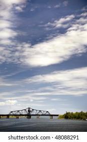 Swing Bridge in Ontario Canada