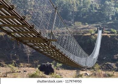 Swing Bridge, Pokhara Nepal