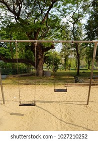 swing chair sand playground