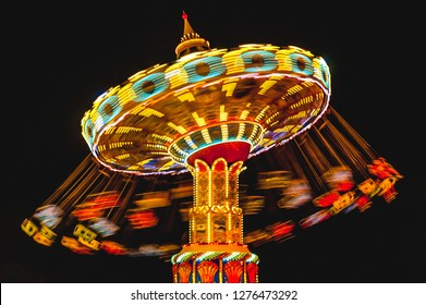 Swing Ride at night