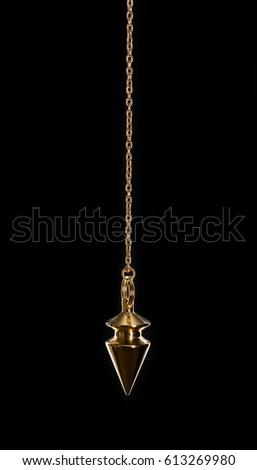 Hypnotic swinging pendulum