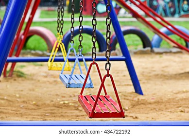 Swing-set at Playground