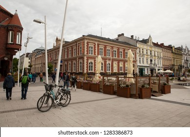 SWINOUJSCIE, POLAND-MAY 26, 2018: Swinoujscie is a city and seaport on the Baltic Sea and Szczecin Lagoon, located in the extreme north-west of Poland.