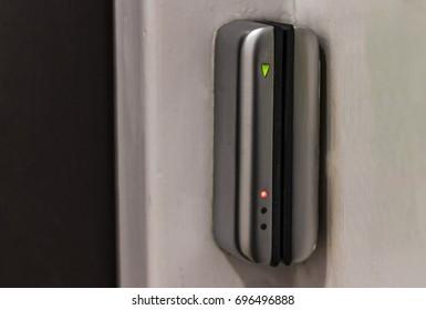 Swipe Card Lock on an office door & Door Swipe Card Images Stock Photos u0026 Vectors | Shutterstock