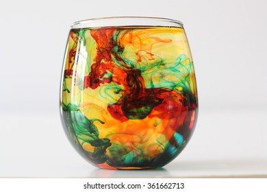 Swirling Colors in Glass