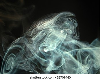 swirling smoke background