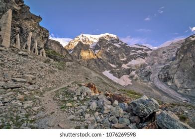 Swiss Alps near Arolla village