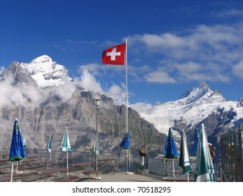 Swiss beauty, First above Grindelwald