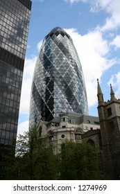 Swiss Re Building London 'The Gherkin'
