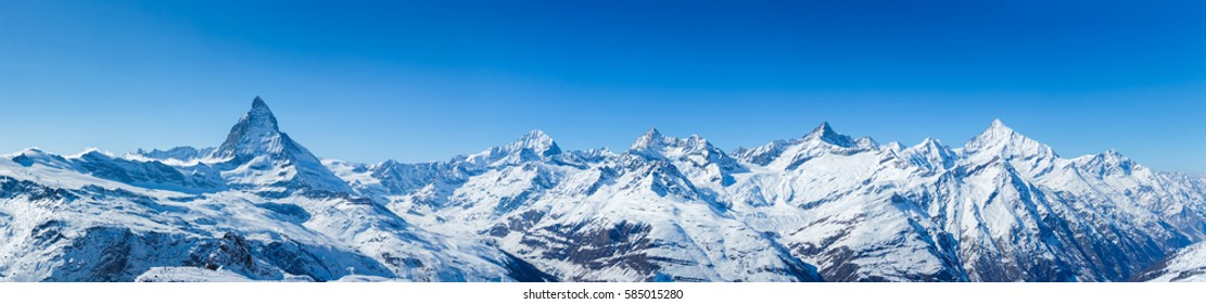 Swiss Mountains Panorama
