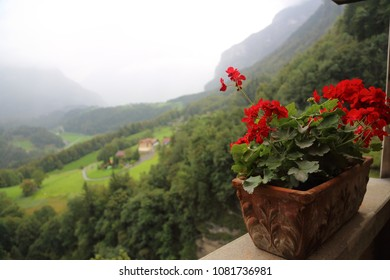 Swiss mountains, summer