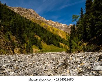 Swiss National Park, Graubuenden, Engadin, Switzerland, Val Trumpchun