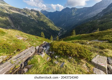 Swiss Osura valley in canton Ticino in summer