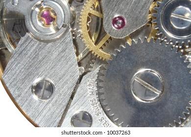 Swiss watch mechanism