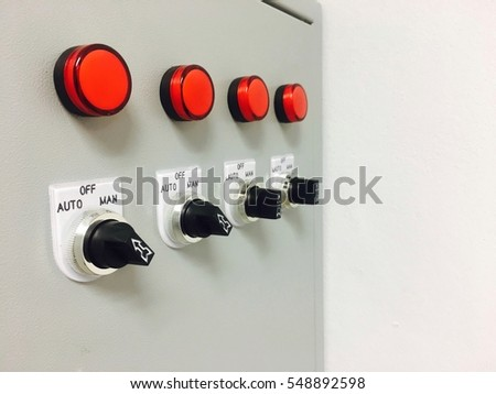 switch buttons on fuse box server stock photo (edit now) 548892598 Household Fuses switch buttons on fuse box server room