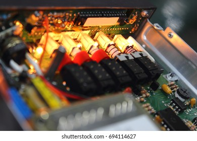 Switch  and electronic circuit ,AVIONICS equipment in aircraft with maintenance ,AVIONICS System.