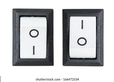 switch Isolated on white background