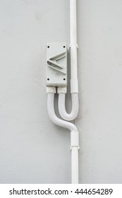 Switch On White Wall