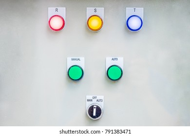 Switches on cabinets with electric controls