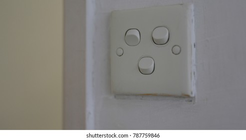 Switching off the light