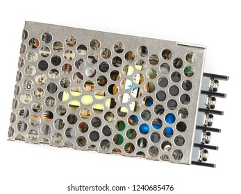 Switching power supply DC to DC isolated on white background