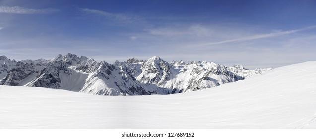 Switzerland- alps in winter