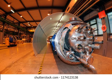 Geneève / Switzerland - April 2010 : CERN, the European Organization for Nuclear Research, is one of the world's largest and most respected centres for scientific research