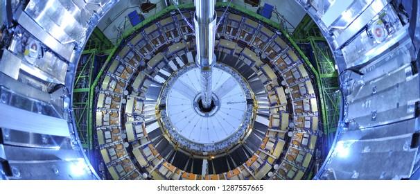 Geneève / Switzerland - April 2010 : CERN, the European Organization for Nuclear Research