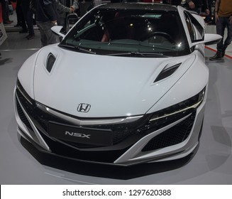 Switzerland; Geneva; March 10, 2018; Honda NSX; The 88th International Motor Show in Geneva from 8th to 18th of March, 2018.