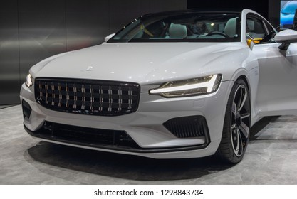 Switzerland; Geneva; March 10, 2018; Polestar 1, World Premiere; The 88th International Motor Show in Geneva from 8th to 18th of March, 2018.