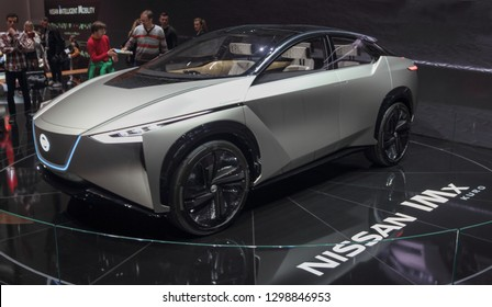 Switzerland; Geneva; March 10, 2018; NISSAN IMx kuro; The 88th International Motor Show in Geneva from 8th to 18th of March, 2018.