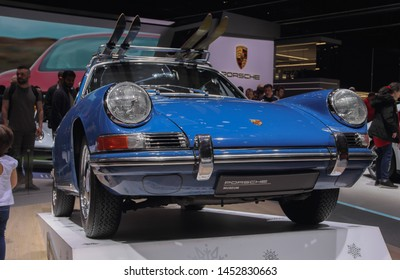 Switzerland; Geneva; March 10, 2019; Porsche 911 Coupe; The 89th International Motor Show in Geneva from 7th to 17th of March, 2019.