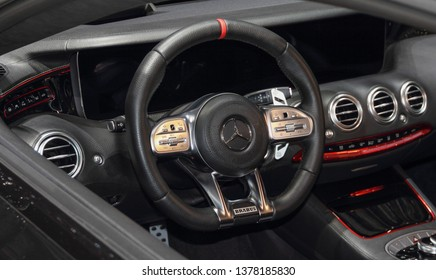 Switzerland; Geneva; March 9, 2019; Brabus 800, Mercedes-AMG S 63 Coupé; The 89th International Motor Show in Geneva from 7th to 17th of March, 2019.