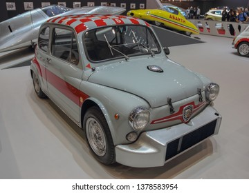 Switzerland; Geneva; March 9, 2019; Fiat Abarth 1000 TCR Radiale GR. 5; The 89th International Motor Show in Geneva from 7th to 17th of March, 2019.