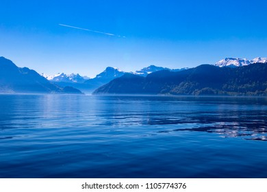 Switzerland Lake Lucerne landscape view