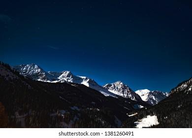 Switzerland Mountains, Davos, Tiejer Flue