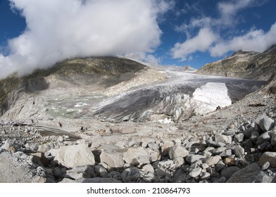 switzerland mountains with glacier